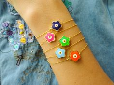Wholesale jewelry evil eye bracelet lots wholesale by Handemadeit