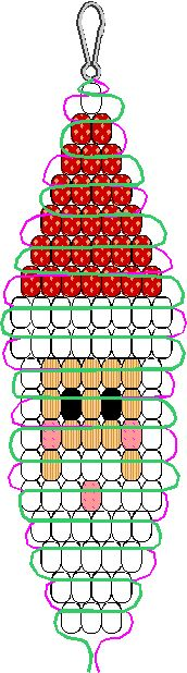 pony bead santa pattern (9952 bytes)