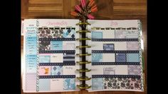 Plan with me November 2016, Happy Planner lay out