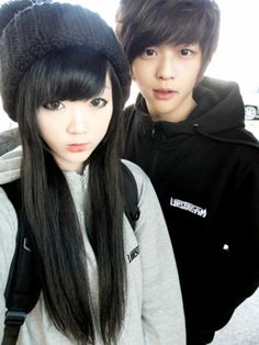 Dong Hoon and Hyang Suk