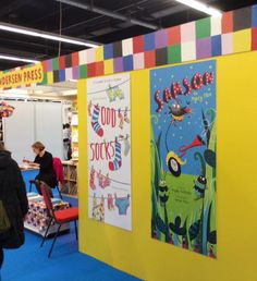 Andersen stand at Frankfurt 15 - with ODD SOCKS by Michelle Robinson & Rebecca Ashdown.