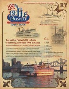 The Belle of Louisville Centennial Celebration ~ Louisville, Kentucky