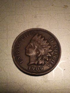 1909 better date indian head penny scare by DrewsCollectibles, $15.50
