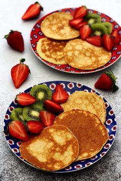 Pancakes aux flocons d'avoine et fromage blanc - Amandine Cooking - The Best Breakfast and Brunch Spots in the Twin Cities - Mpls. Breakfast Platter, Breakfast Recipes, Easy Desserts, Dessert Recipes, Diet Cake, Brunch Menu, Brunch Food, Savoury Cake, Clean Eating Snacks