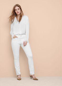 Jeans slim valentina - Jeans Taglie grandi | Violeta by MANGO Italia