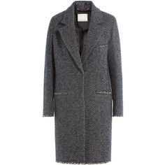 By Malene Birger Striped Wool Coat ($460) ❤ liked on Polyvore featuring outerwear, coats, multicolor, striped wool coat, multi colored coat, stripe coat, long sleeve coat and wool coat
