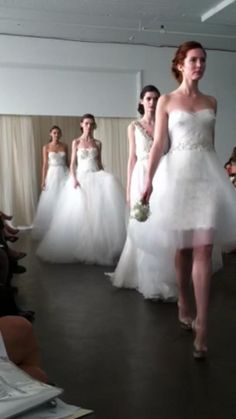 Marchesa Spring 2013 by erin wylie Marchesa Bridal, Marchesa Spring, Bridal Dresses, Wedding Gowns, Nice Dresses, Flower Girl Dresses, Dress Attire, Bridal Showers, Playing Dress Up