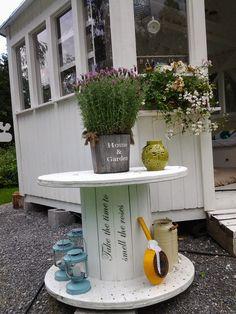 Garden Inspiration, Interior Inspiration, Yard Art, Garden Plants, Home And Garden, Cottage, Table, Outdoor, Diy Ideas