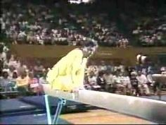 Afternoon Video - A talented gymnast takes to the beam!!!!!