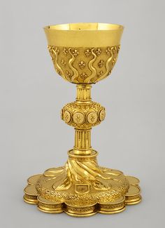 Chalice, 16th century (1532–33) Made in Paris, France Silver–gilt; | Heilbrunn Timeline of Art History | The Metropolitan Museum of Art