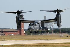 Those engines are what make the machine what it is...  Osprey CV 22 - RAF Mildenhall