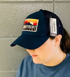 6d28f90962c  Montreat College Mountain Embroidered Trucker Hat