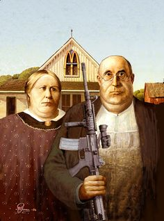 Rolf Groven  New American Gothic  2004