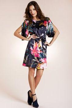 Per Una Speziale Floral Belted Shift Dress