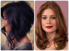 Resultado de imagem para cabelos curtos para rostos redondos 2015