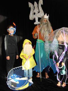 Ocean theme Halloween costume