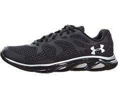 65dc7bc501e Under Armour Mens UA Spine Evo Running Shoes 8 Black     Check out the
