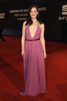 Maria Ehrich arrives for the Goldene Kamera on March 2017 in Hamburg, Germany. Gwendolyn Shepherd, Cocktail Gowns, Hamburg Germany, March 4, Photo L, Ruby Red, Red Carpet, Special Occasion, Celebrity