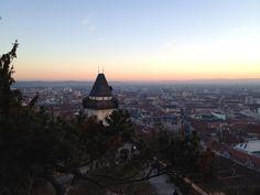 Graz at Sunset