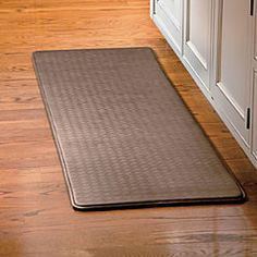 I'd really like a nice long one like this for in front of my kitchen sink! It's 6 feet long. and it's sweepable which my current mat is not.