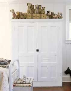 Closed Storage in Child's Bedroom | from Country Living | photo Steven Randazzo | House & Home