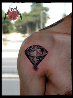 diamond Dotwork tattoo