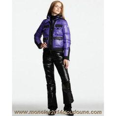 Vest Moncler Femme Blouson Violet Sortie