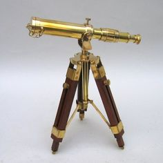 I love the combination of wood and brass on early scientific equipment.