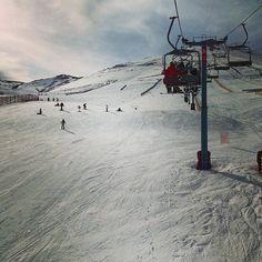 Estação de Esqui El Colorado em Lo Barnechea, Metropolitana de Santiago de Chile