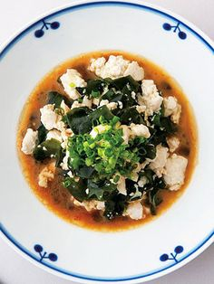 【ELLE a table】温かいくずし豆腐とわかめの温サラダレシピ|エル・オンライン
