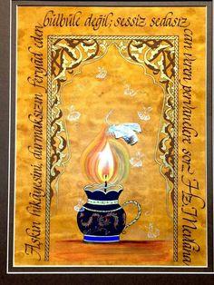 Nida Dagyar - Kaligrafi : Erhan Olcay