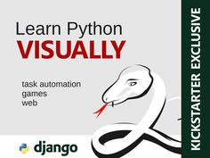 Beautifully illustrated eBook that teaches Python programming through Metaphors…