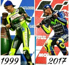 The King of Assen!!  Love it, Rossi!!
