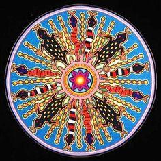 Магические картины индейцев племени Уичоль (huichol)