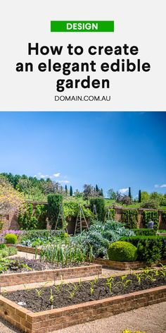 An emerging new trend in garden design, foodscaping is about landscaping your garden using edibles in an aesthetic way.