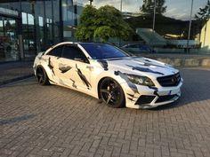 Mercedes-Benz CL PRIOR DESIGN WIDEBODY
