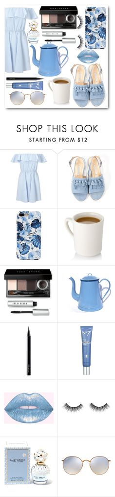 """""""•TOP SET• you'll never be blue, if you have coffee"""" by parisvonder ❤ liked on Polyvore featuring Miss Selfridge, Bionda Castana, Bobbi Brown Cosmetics, MAC Cosmetics, Marc Jacobs and Ray-Ban"""
