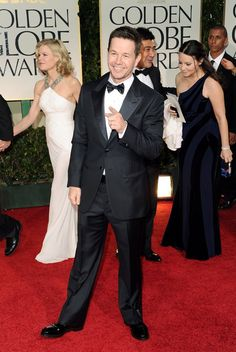 Mark Wahlberg arrives at the 69th Annual Golden Globe Awards in Beverly Hills, California, on January 15.