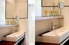 Chic, des verres à pied ! : Accessoires pour une salle de bains déco - Journal des Femmes Décoration
