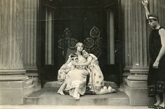 Beginning in the 1880s, Beloit College became well known for its elaborate productions of Greek plays,  (Beloit college photo donated by Bob Henert estate)