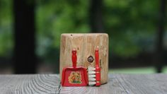 A personal favorite from my Etsy shop https://www.etsy.com/listing/249032895/vintage-red-tin-doll-house-dustpan-and