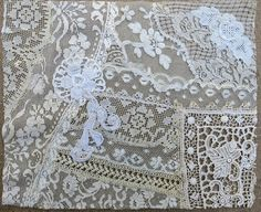 Vintage & Antique Lace Collage No. 31 ... by GypsyFeather on Etsy