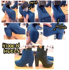 Hidden Heels - COSPLAY IS BAEEE! Tap the pin now to grab yourself some BAE Cosplay leggings and shirts! From super hero fitness leggings, super hero fitness shirts, and so much more that wil make you say YASSS! Cosplay Makeup, Cosplay Outfits, Anime Cosplay, Diy Camisa, Diy Vetement, Sailor Moon Cosplay, Costume Tutorial, Halloween Cosplay, Raven Cosplay Diy