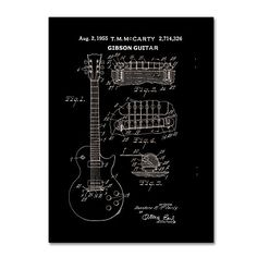 Trademark Fine Art 1955 Mccarty Gibson Guitar Patent Black by Claire Doherty, 35x47-Inch Trademark Fine Art http://www.amazon.com/dp/B016BPQYQG/ref=cm_sw_r_pi_dp_vZsjwb0Y3TCJ4
