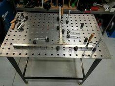 Metal fabrication table