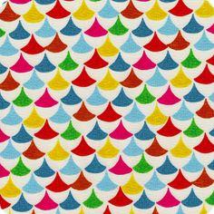 Multi Triangles   In a Kingdom Far Away Collection   Organic Cotton