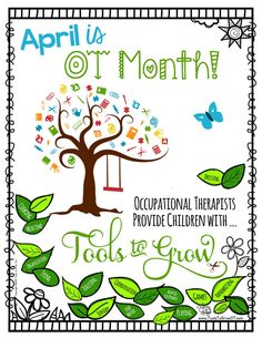 OT Month FREE Printable Poster