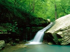 River Indian Creek, Buffalo National River in Arkansas, One of the Most Scenic Rivers in the Country #travel #usa #arkansas