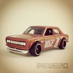 #037 - Datsun Bluebird 510 - 2009 Hot Wheels - New Models