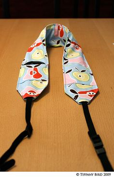 Camera Strap project (for when I open the box with my new sewing machine in it I got a few years back :p)